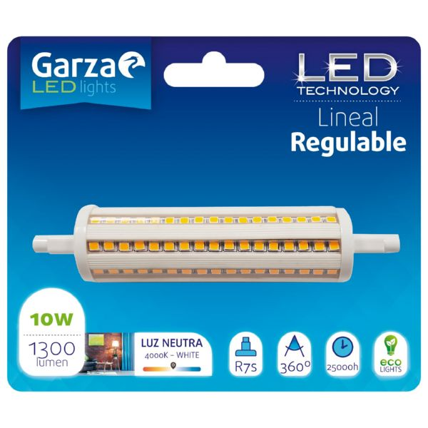 Lamp.regulable LED lineal 118MM 10W gz 1300LM